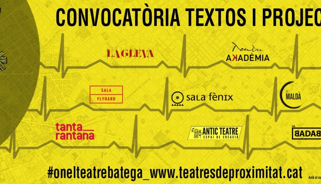 """Oberta la segona convocatòria de textos i projectes """"ON EL TEATRE BATEGA"""""""